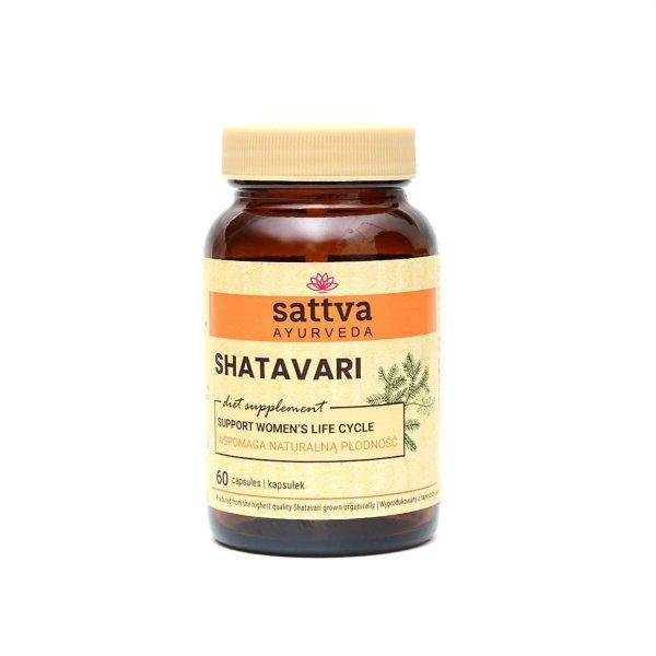 Shatavari, 60 kapsułek, Sattva