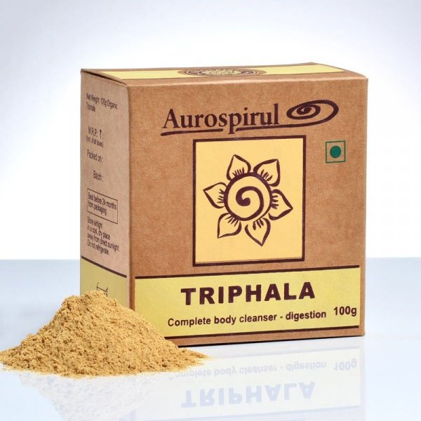 Triphala - Aurospirul, w proszku 100g