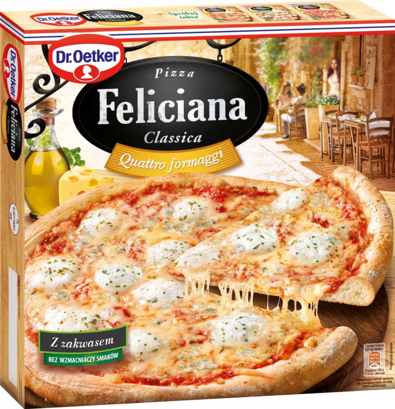 [Dr.Oetker] Pizza Feliciana 4 SERY325g/5szt