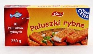 [Frosta/Tiko] paluszki rybne 0,25 pakowane po 10 szt
