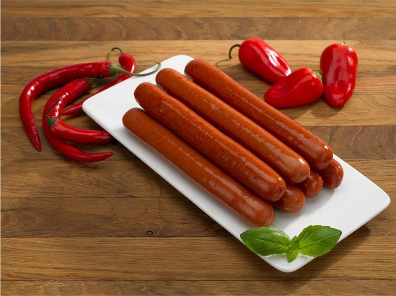[GREEN FOX] Parowka chili  HOT-DOG 700g/8