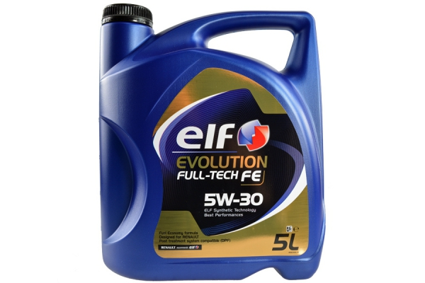 ELF EVOLUTION FULL-TECH FE 5W30 5L DO FAP DPF RN0720