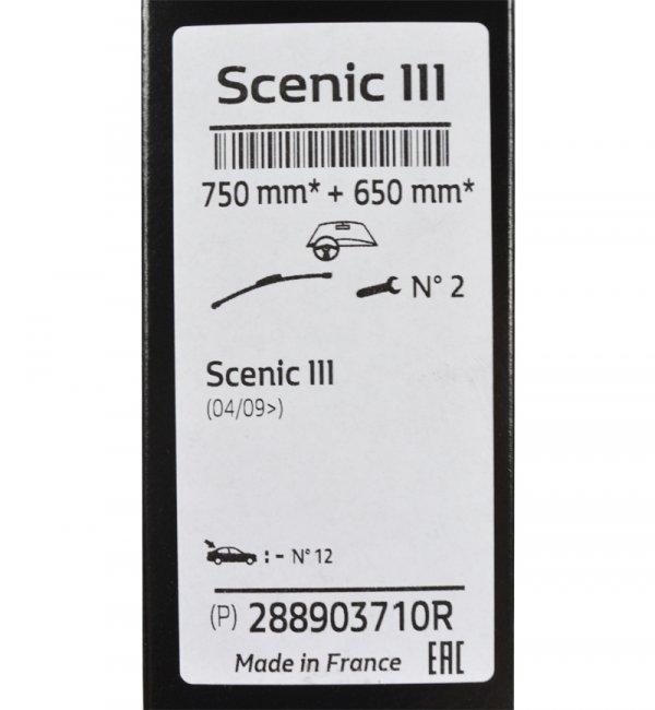 WYCIERACZKI RENAULT SCENIC III ORYGINAŁ 288903710R