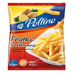 1050 Poltino Frytki Karbowane 750g 1x12