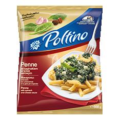 1045 Poltino Penne ze Szpinakiem 600g 1x10