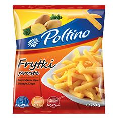 1049 Poltino Frytki Proste 750g 1x12
