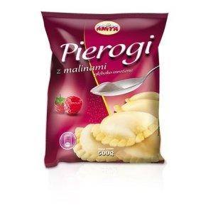 2008 Anita Pierogi z Malinami 500g 1x12