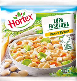 1217 Hortex Zupa fasolowa 450g 1x14