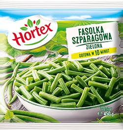 1132 Hortex Fasolka szparagowa zielona 450g 1x14