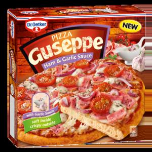 4010 Guseppe Pizza Szynka z Sosem Czosnkowym 440g 1x5