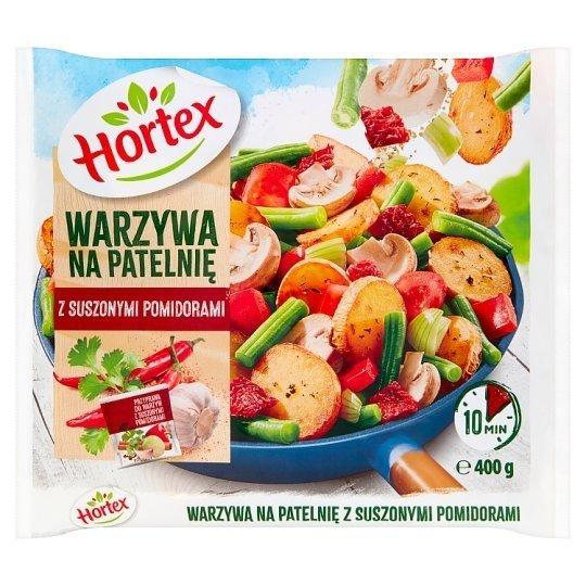 1125 Hortex WNP Warzywa Na Patelnię z suszonymi pomidorami 450 g 1x14