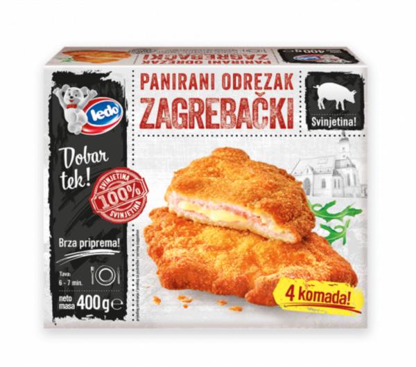 30008 CHO Zagrebacki steak 400g 1x10