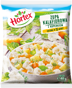 Zupa kalafiorowa 450g 1x14