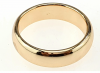 gold ring 18,30mm. gold-plated engagement xuping