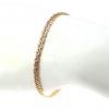3617 Bransoletka złota pozłacana 18k Xuping