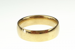 ring 20,30mm gold stainless steel