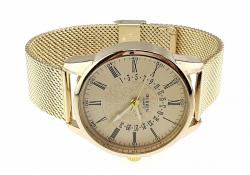 men's watch, kurren, stainless steel