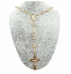 gold necklace, 18 kt gold plated, xuping