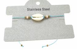 GOLD BRACELET STAINLESS STEEL STRING