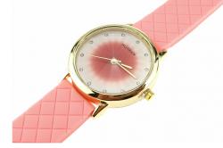 923 Damski zegarek złoty gumowy KURREN