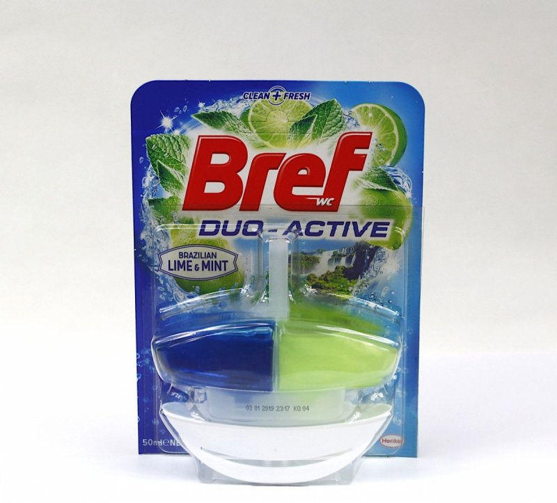 Bref Duo Activ Lime&Mint zawieszka do WC 50 ml