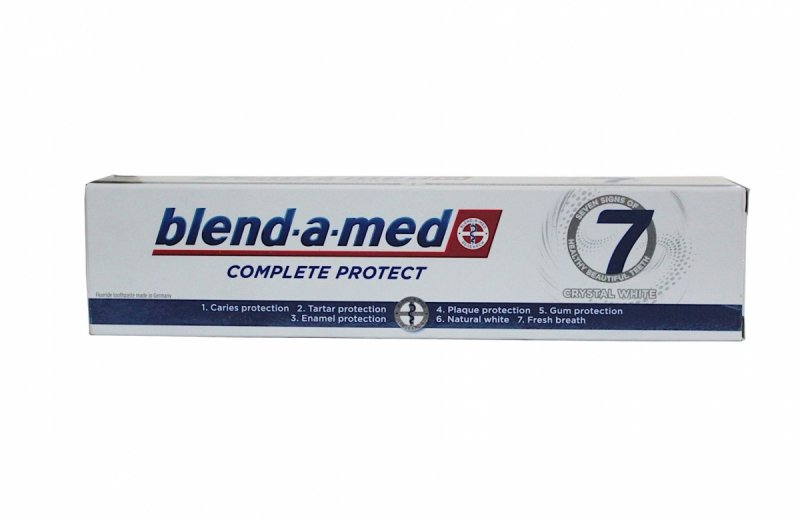 Blend a med Complete Protect Crystal White pasta do zębów 125 ml