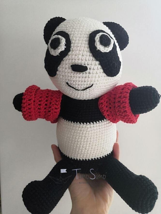 Panda Wanda sensoryczna dla niemowląt