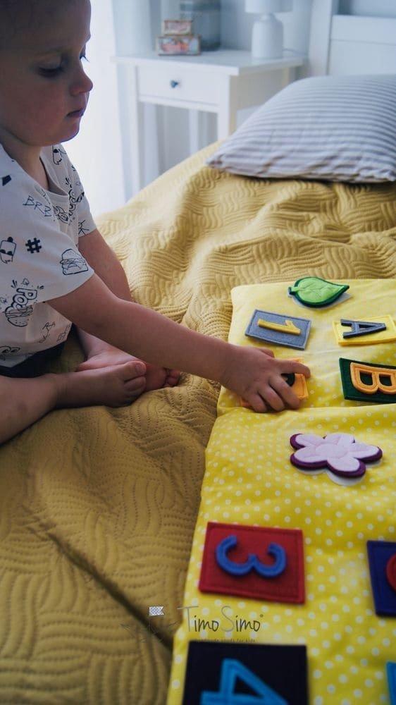 mata sensoryczna dla dziecka 1+
