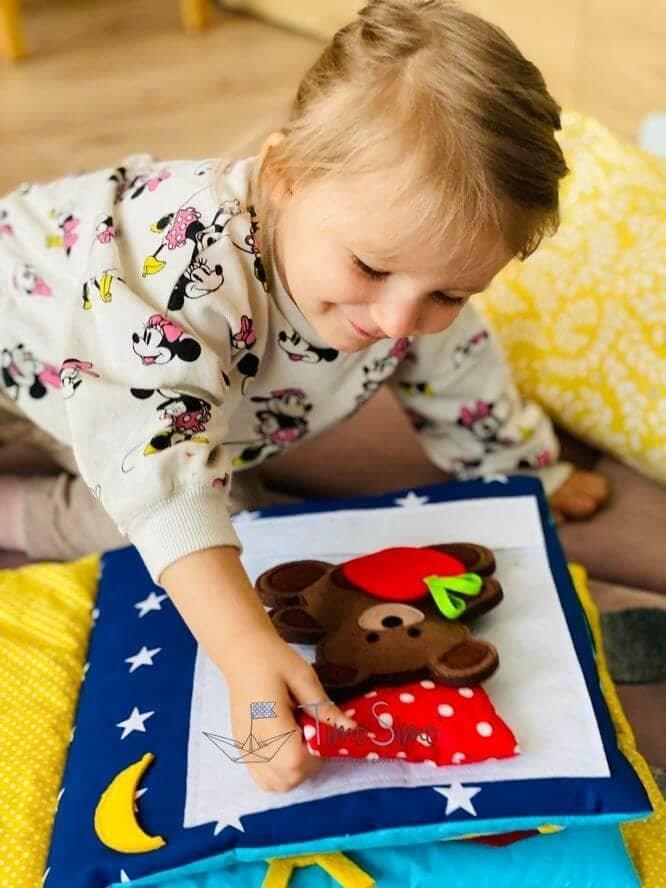 książka sensoryczna dla dziecka 1+