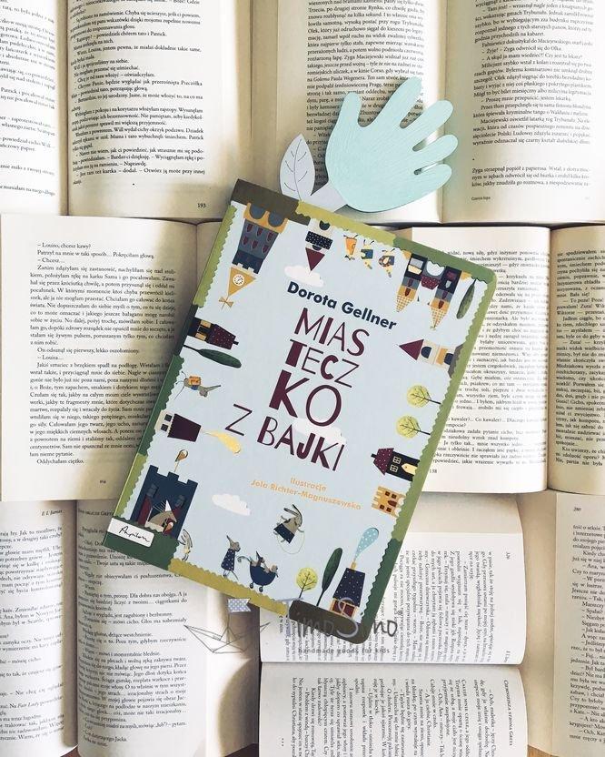 Zakładka do książki ręcznie robiona Łapka-Kwiatek