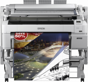 Ploter EPSON SureColor SC- T5200D MFP PS 36 nowy