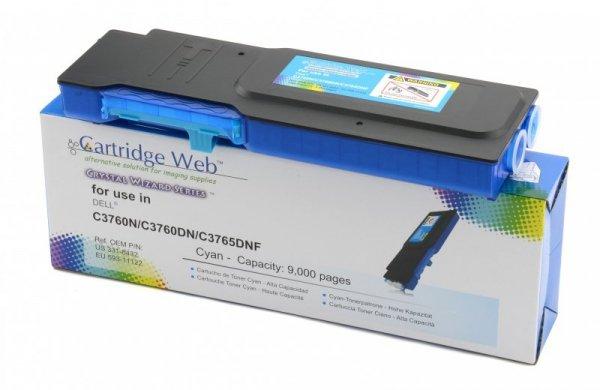 Toner Cartridge Web Cyan Dell 3760 zamiennik 593-11122