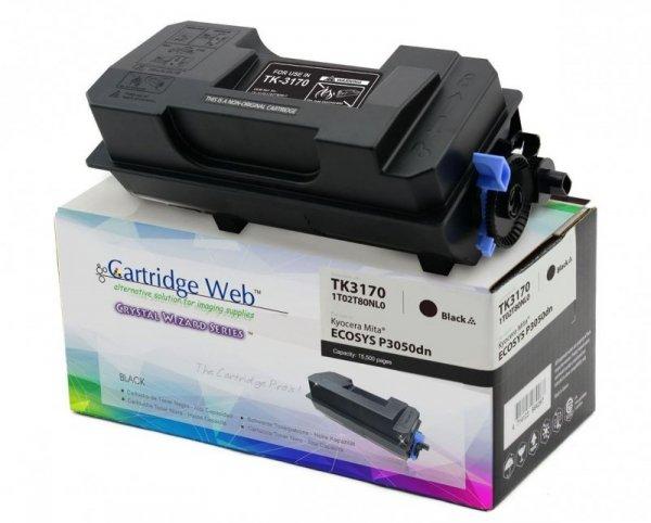 Toner Cartridge Web Czarny Kyocera TK3170 zamiennik TK-3170 (z pojemnikiem na zużyty toner WASTE BOX)