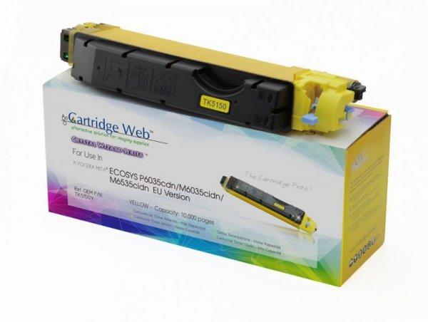 Toner Cartridge Web Yellow Kyocera TK5150 zamiennik TK-5150Y