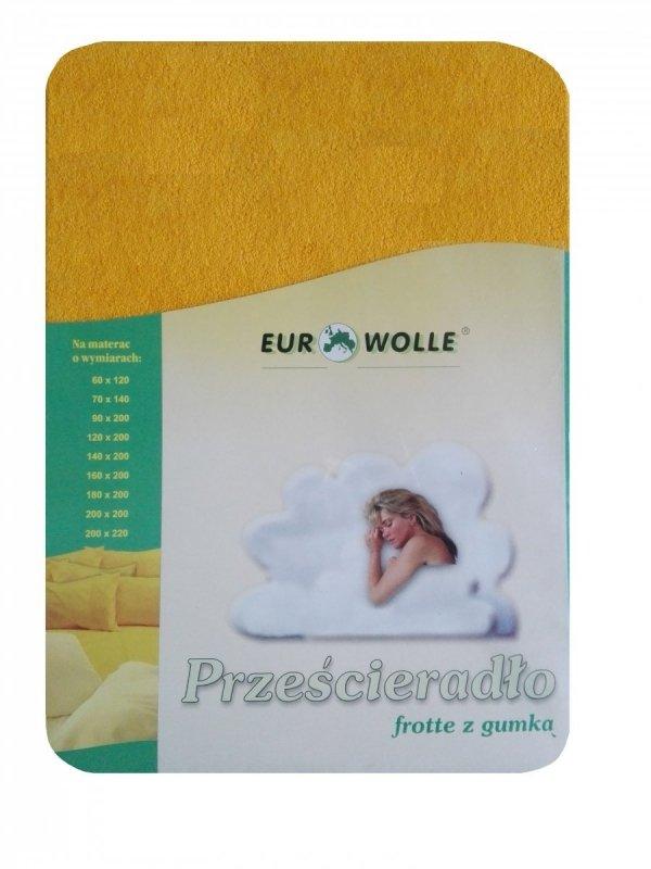 Miękkie_ przyjemne w dotyku_prześcieradło frotte z gumką Eurowolle_kolorowe prześcieradło polskiego producenta_ prześcieradło oddychające z dzianiny frotte_20