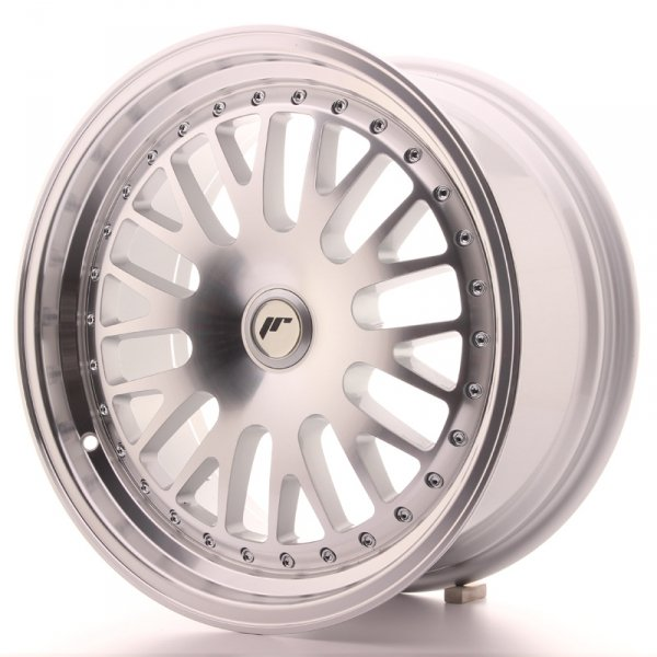 Japan Racing JR10 17x8 ET25-35 Blank Machined Silv