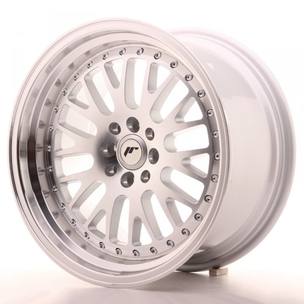 Japan Racing JR10 17x9 ET25 4x100/108 Machined Sil