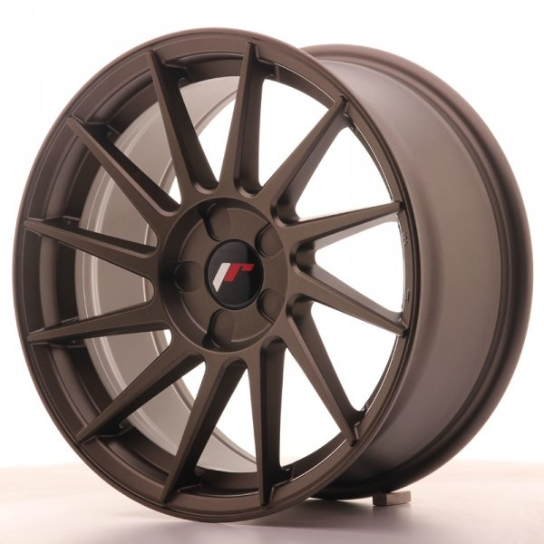 Japan Racing JR22 17x8 ET35 5H Blank Matt Bronze