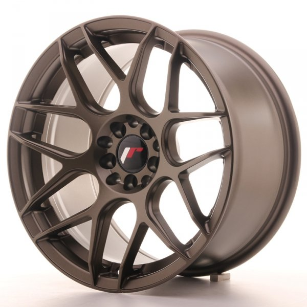 Japan Racing JR18 17x9 ET20 4x100/114 Matt Bronze