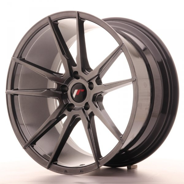 Japan Racing JR21 20x10 ET30 5x112 Hyper Black