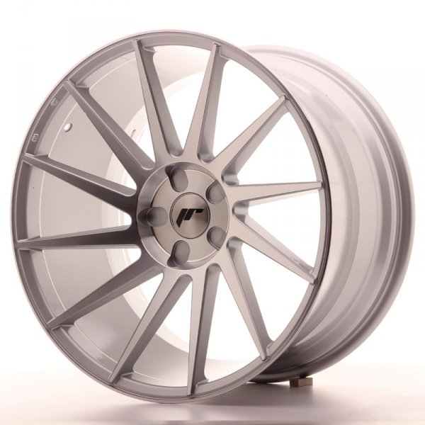 Japan Racing JR22 20x11 ET20-40 5H Blank Silver M