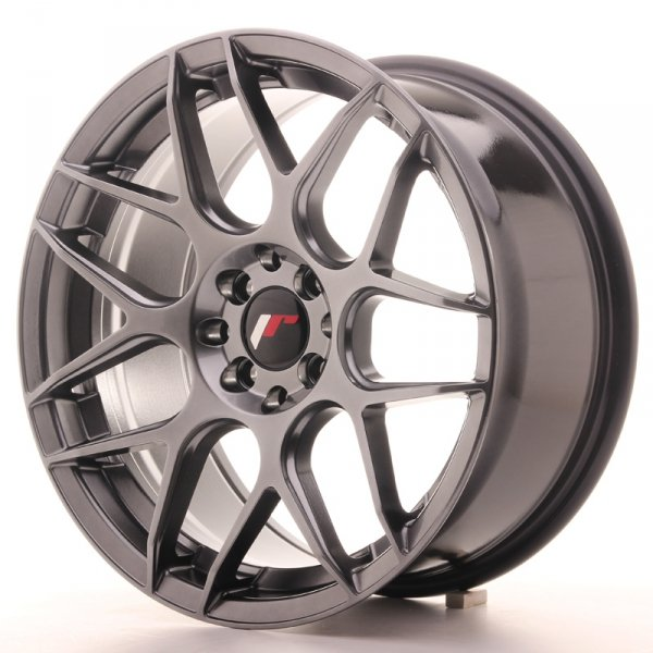 Japan Racing JR18 17x8 ET35 5x100/114 Hyper Black