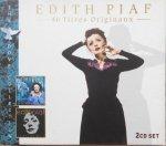 Edith Piaf • 46 Titres Originaux • 2CD