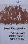 Józef Kuropieska • Obozowe refleksje Oflag IIC
