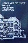 Nikolaus Pevsner • Historia architektury europejskiej