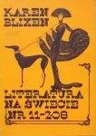 Literatura na świecie 11/1988 • Karen Blixen