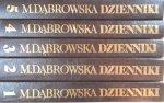 Maria Dąbrowska • Dzienniki [komplet]