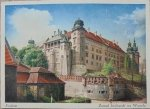 Kraków. Zamek królewski na Wawelu