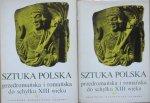 red. Michał Walicki • Sztuka polska przedromańska i romańska do schyłku XIII wieku [komplet]