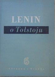 Lenin o Tołstoju [wydane w 40. rocznicę śmierci Tołstoja]